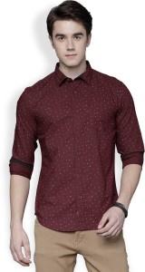Locomotive Men's Printed Casual Multicolor Shirt