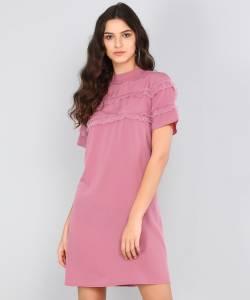 Remanika Women Shift Pink Dress