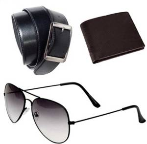 OODI Aviator, Wallet, Belt Combo