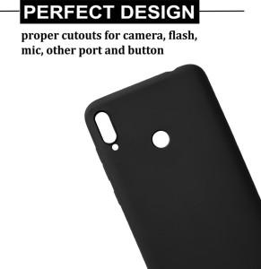 ea532b622 Febelo Back Cover for Mi Redmi Note 7 Matte Black Grip Case Best ...