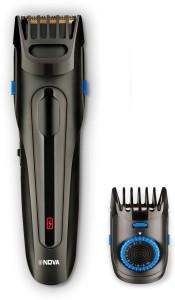 Nova Black Series NHT 1097 USB Cordless Trimmer for Men