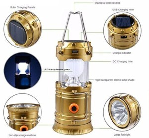 Supreme World 5800led Emergency Light Gold
