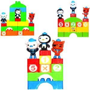 Miss & Chief Toddler 60 Pcs Hand Bag Building Blocks Set For Kids / Children