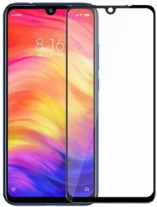 SoftTech Edge To Edge Tempered Glass for Mi Redmi Note 7