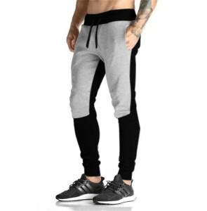 THE ARCHER Colorblock Men Black, Grey Track Pants