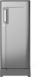 Whirlpool 200 L Direct Cool Single Door 3 Star (2019) Refrigerator with Base Drawer(Magnum Steel, 215 impwcl Roy 3s magnum steel)