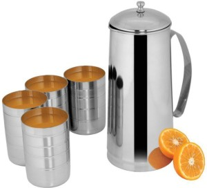 46e898265c Classic Essentials 65464 Jug Glass Set Stainless steel Best Price in ...