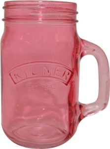 Kilner Handle Jar - Pink Water Jug