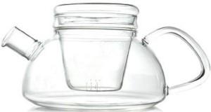 EZ Life Glass Tea Pot - Modern Pot - 650ml Water Jug