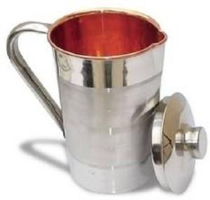 Rathod Steel copper Water Jug Size-4 2.2ltr. Water Jug