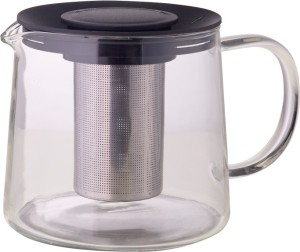 Borosil Carafe with Stainless steel strainer 1L Kettle Jug