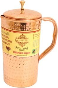 Indian art villa Copper Hammer Jug No.2 Water Jug