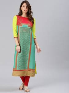 Anni Designer Festive & Party Printed Women Kurti