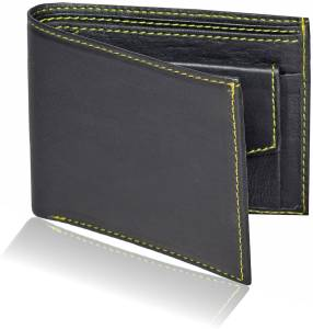 Huntsman Men Black Wallet
