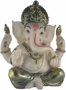 Galaxy World Cute Ganesha statue Decorative Showpiece Decorative Showpiece  -