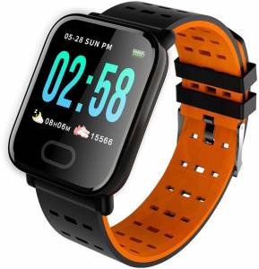 HEALTHIN HIN07 A6 Smartband RED Smartwatch