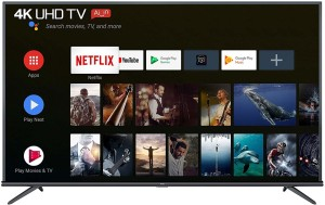 TCL 163.8cm (65 inch) Ultra HD (4K) LED Smart Android TV(65P8E)