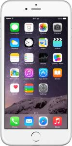 Apple iPhone 6 Plus (Silver, 16 GB)