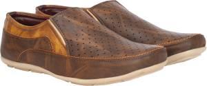 Kraasa Men Brown Loafers