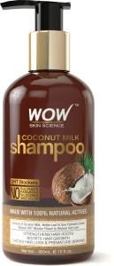 WOW SKIN SCIENCE WOW Coconut Milk ShampooNew Men & Women 300 ml