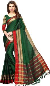 Hitesh Enterprise Green sari