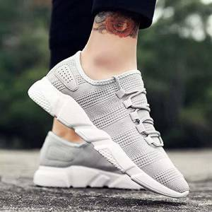Afrojack Grey Men Shoe