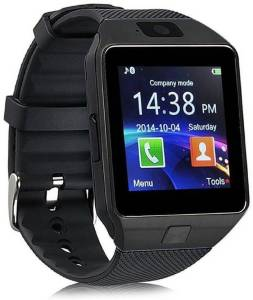 Gabbar ™ DZ09 with Bluetooth Dialer Function Black Smartwatch