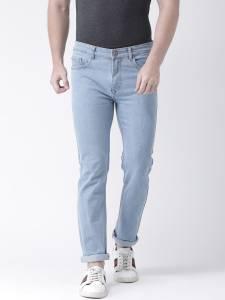 Teesort Solid Men's Stretchable Denim Jeans