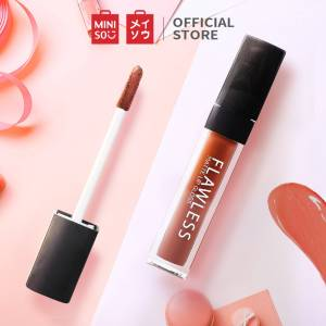 MINISO Flawless Matte Lip Gloss Waterproof Long-Lasting Beauty Liquid Lipstick, 05 Brownie, 03 Macaron Pink, 02 Pink Pink, 04 Warm Pink