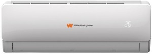 White Westing House 1.5 Ton 3 Star Split AC  - White(WWH183FSA_MPS, Copper Condenser)