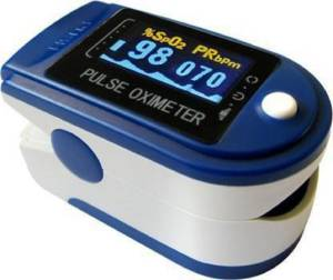 clinovation PTC TM -567 PULSE OXIMETER ISO Pulse Oximeter (Multicolor PORTABLE) Pulse Oximeter (White)