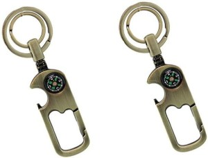 i-gadgets Double Ring Compass Hook Key Chain