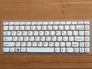 Neon L14G40W-101 Silicon Rubber Protector cover For Lenovo B40-70 14 Inch White Keyboard Skin