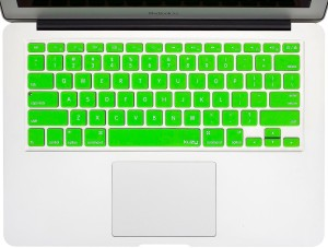 QP360 Mac-13 Macbook Air 13,Macbook Pro 15,Macbook Pro 14 Keyboard SkinGreen