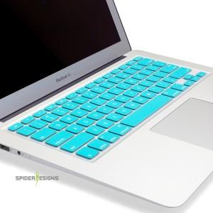 """Spider Designs SD-001 MacBook Pro 13"""" Keyboard SkinTorquise Blue"""