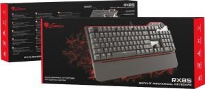 Natec Genesis RX85 Wired USB Gaming Keyboard