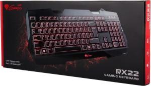 Natec Genesis RX22 Backlit Wired USB Gaming Keyboard