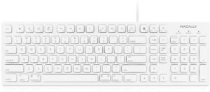 Macally 42568 Wired USB Laptop Keyboard