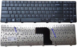 Tech Gear Replacement Keyboard For Dell Inspiron 15r M5010 Wireless Laptop Keyboard