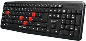 QHMPL qhm7403w Wired USB Laptop Keyboard