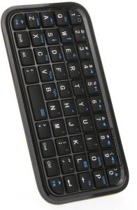 HiTechCart Mini Wireless Handheld 49 Key Bluetooth Tablet Keyboard