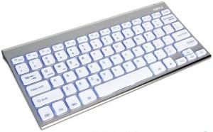 Gmyle Ultra Slim Blue Backlit Bluetooth Tablet Keyboard