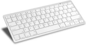 Outre 2.4Ghz Ultra Slim Portable Mute Keys Wireless Bluetooth Tablet Keyboard