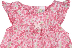 a42d670c3b9712 Color Fly Girls Casual Dress Gown Pink Best Price in India | Color ...