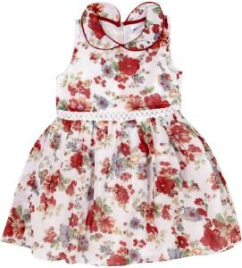 5690652e7e30 612 League Girls Midi Knee Length Casual Dress White Sleeveless Best ...