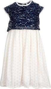 Bella Moda Girl's Midi/Knee Length Casual Dress