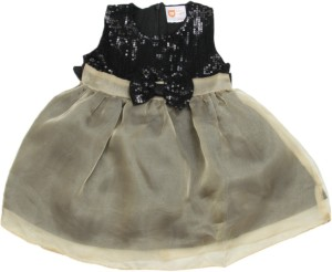 9d4f82a1fa9b 612 League Baby Girl s Midi Knee Length Casual Dress Black ...