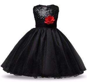 The Nightingales Girl's Maxi/Full Length Party Dress