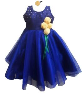 fc6183b4a MVD Fashion Girl s Midi Knee Length Party Dress Blue Sleeveless Best ...
