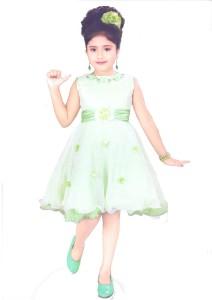 966ffb38aa67e Hey Baby Girls Mini Short Party Dress Light Green Sleeveless Best ...